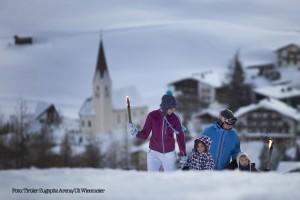 Fackelwanderung in der Tiroler Zugspitz Arena