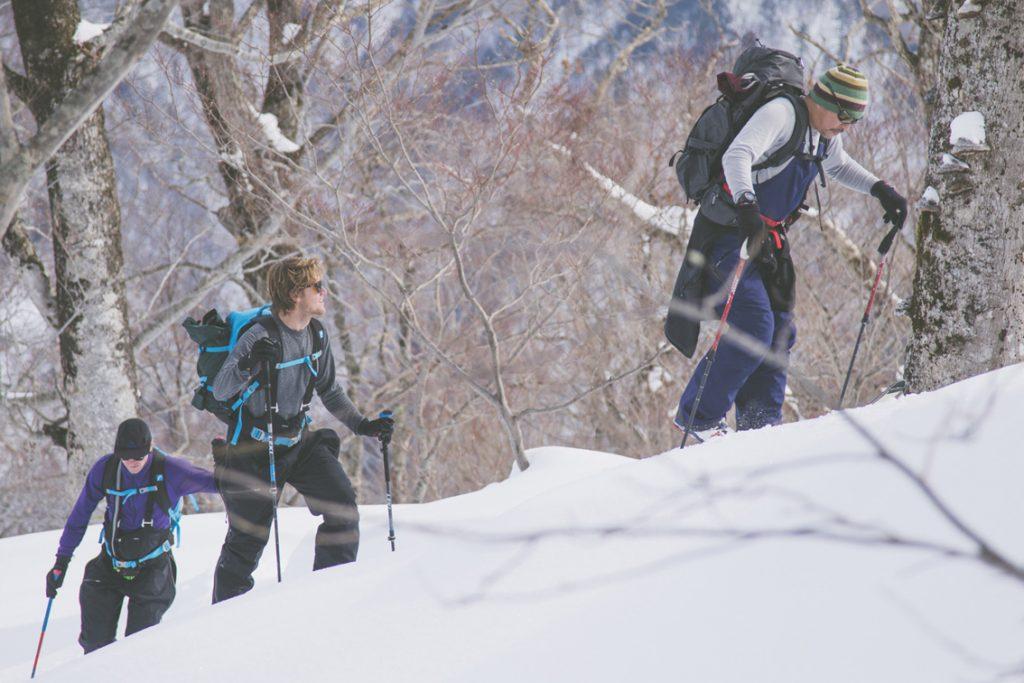 Nori Suzuki spurt für Baker Boyd in Hinoemata © Takanori Ota