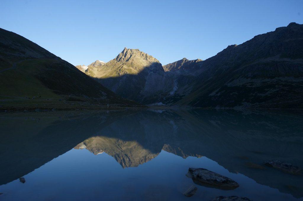 Der Rifflsee © Pitztaler Gletscher
