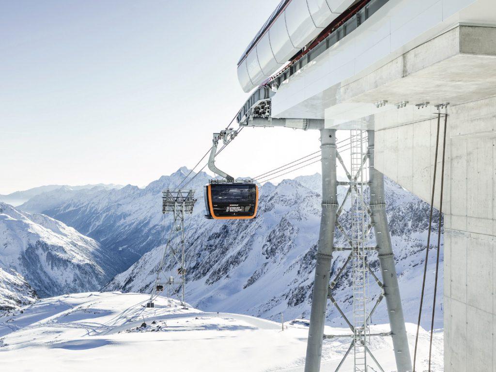 3S Bahn Stubaier Gletscher © Andre Schönherr