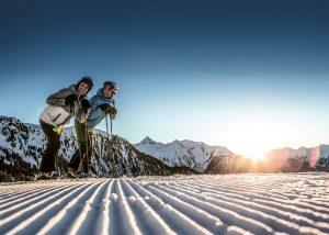 Sonnenaufgang am Hochzeiger © Hochzeiger Bergbahnen / Daniel Zangerl