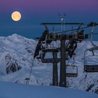 Moonlight Skiing in der Zillertal Arena © Hannes Sautner