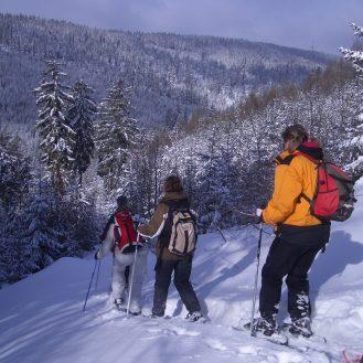 Schneeschuhwandern im Fichtelgebirge © Prechtl