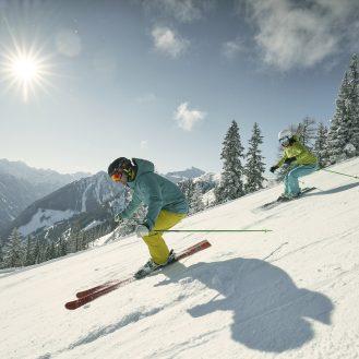 Skifahren auf der Hochwurzen, Schladming-Dachstein © Peter Burgstaller